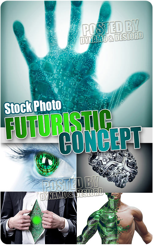 Futuristic concept - UHQ Stock Photo