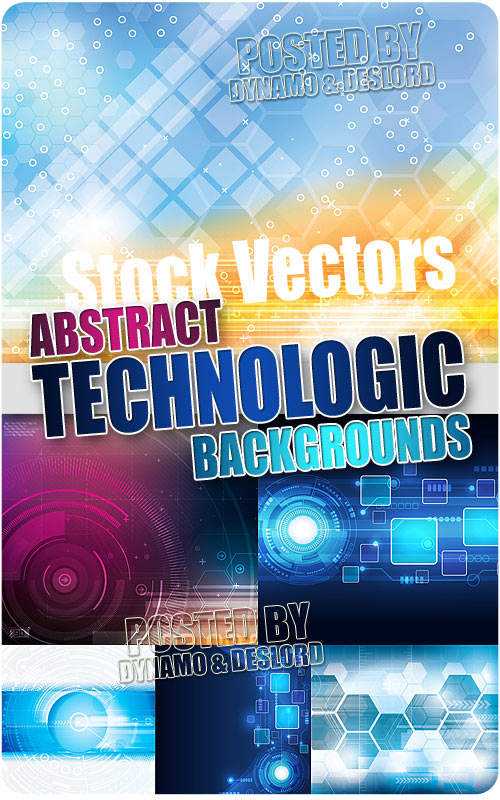 Abstract technology backgrounds - Stock Vectors