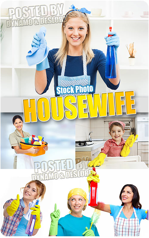 Housewife - UHQ Stock Photo