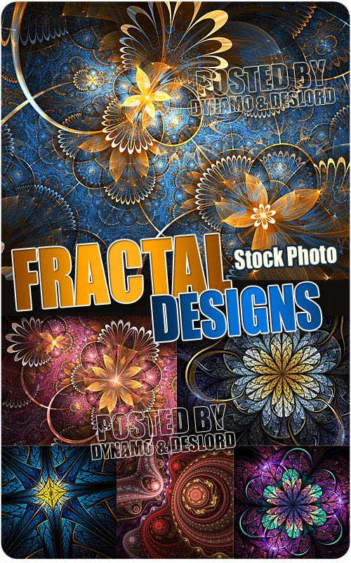 Fractal designs 2 - UHQ Stock Photo