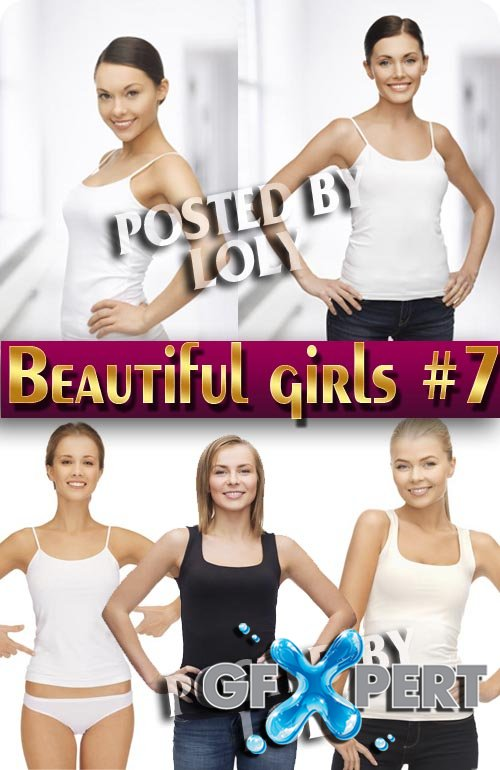 Beautiful girls #7 - Stock Photo