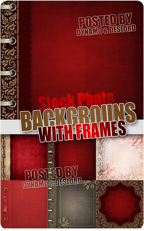 Backgrounds with frames - UHQ Stock Photo
