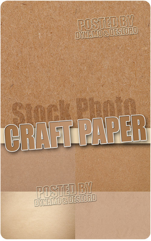 Craft paper - UHQ Stock Photo