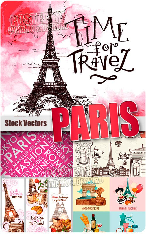 Paris 3 - Stock Vectors