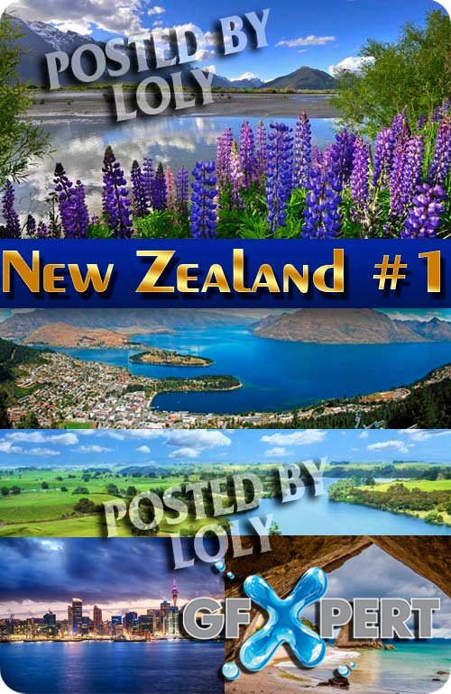 New Zealand #1 - Stock Photo