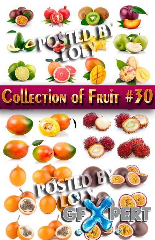 Collection of Fruit #30 - Stock Photo