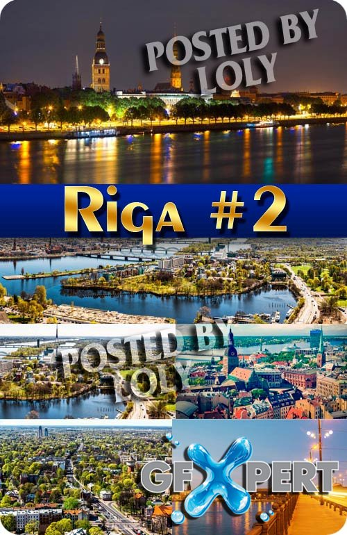 Riga #2 - Stock Photo