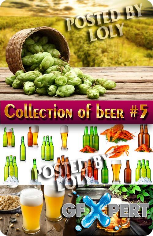Drinks. Mega Collection. Beer #5 - Stock Photo