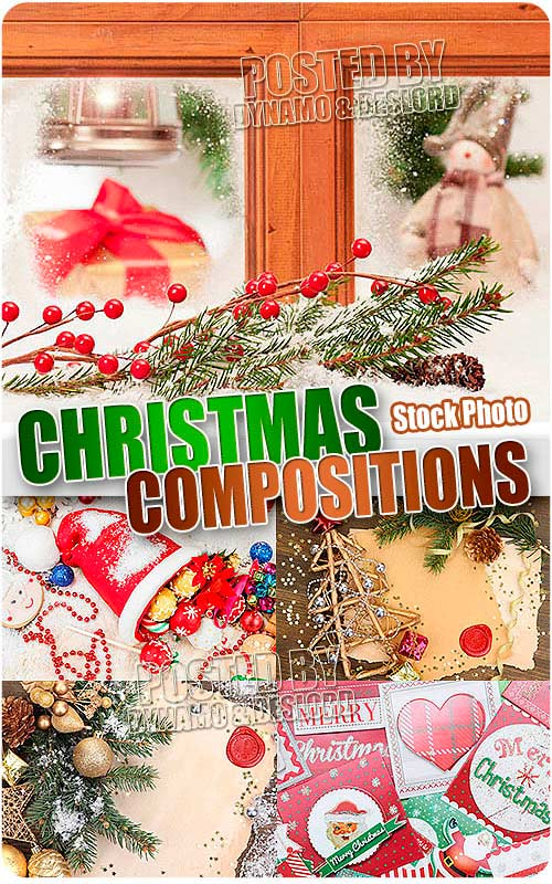 Xmas compositions 3 - UHQ Stock Photo