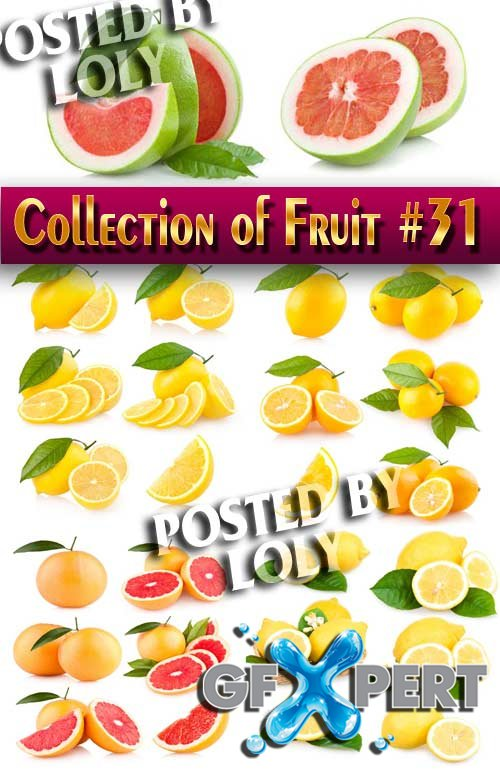 Collection of Fruit #31 - Stock Photo