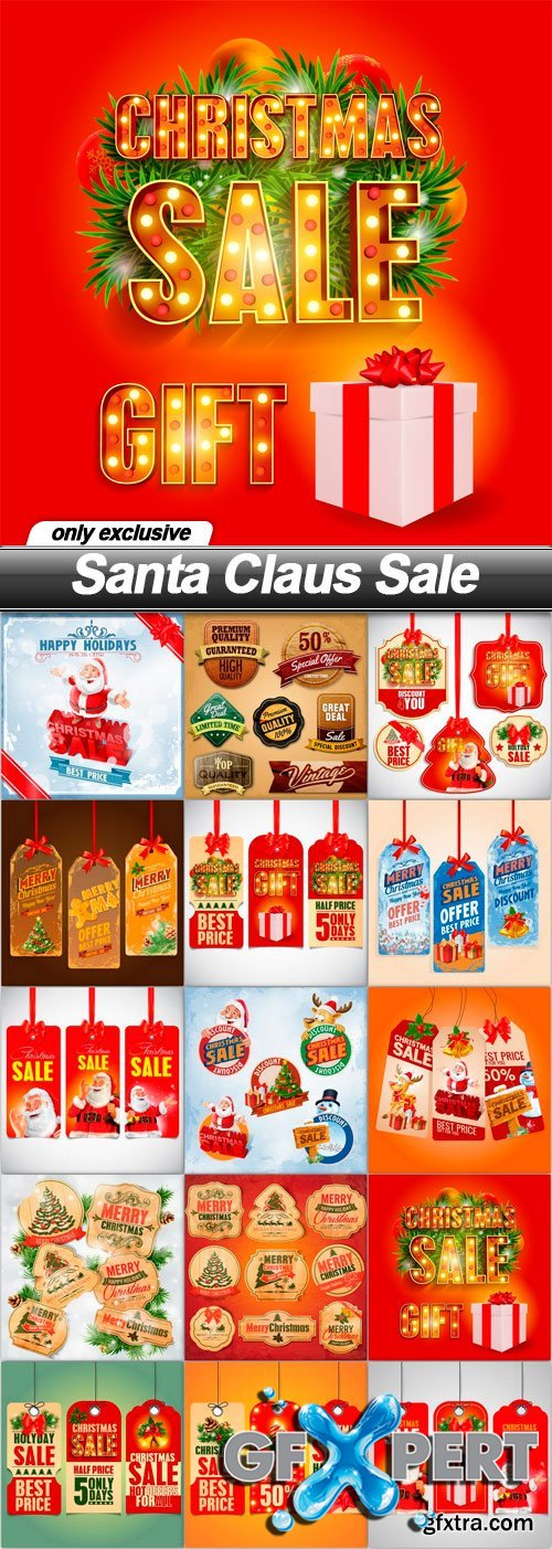 Santa Claus Sale - 15 EPS