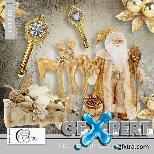 Scrap Kit - Christmas Elements