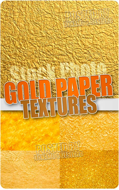Gold paper backgrounds - UHQ Stock Photo