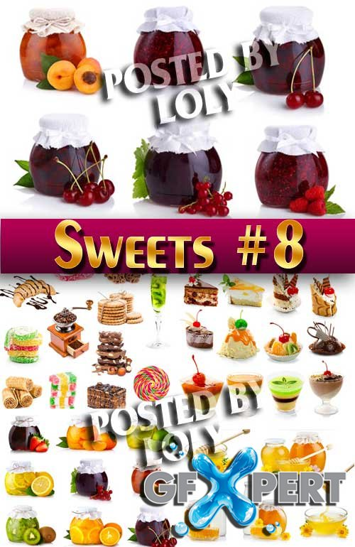 Sweets #8 - Stock Photo