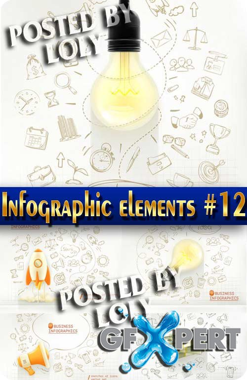 Infographics. Elements #12 - Stock Vector