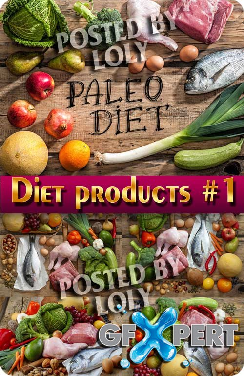 Diet products #1 - Stock Photo