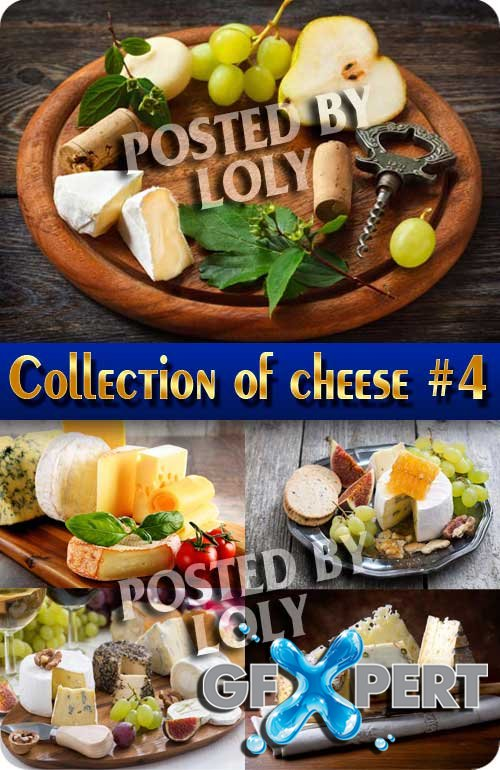 Food. Mega Collection. Cheese #4 - Stock Photo
