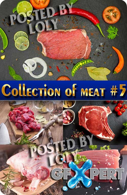 Food. Mega Collection. Meat #5 - Stock Photo