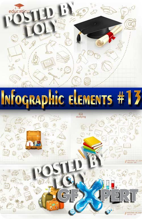 Infographics. Elements #13 - Stock Vector