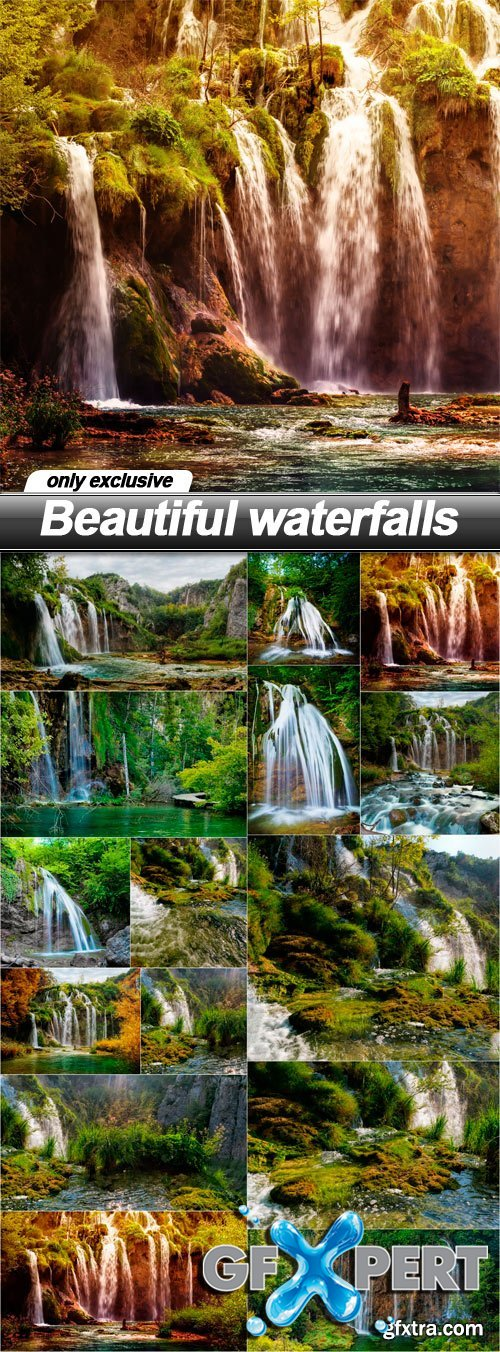 Beautiful waterfalls - 15 UHQ JPEG