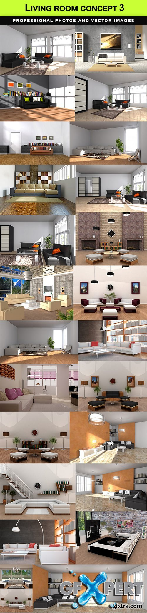 Living room concept 3