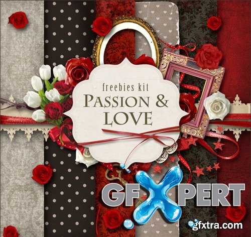 Scrap Kit - Passion & Love