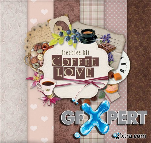 Scrap Kit - Coffee Love