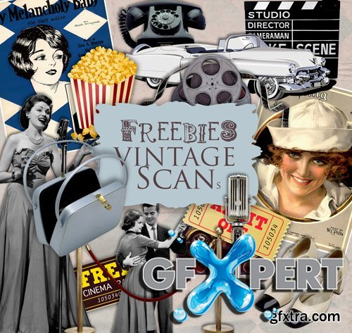 Scrap Kit - Retro Cinema