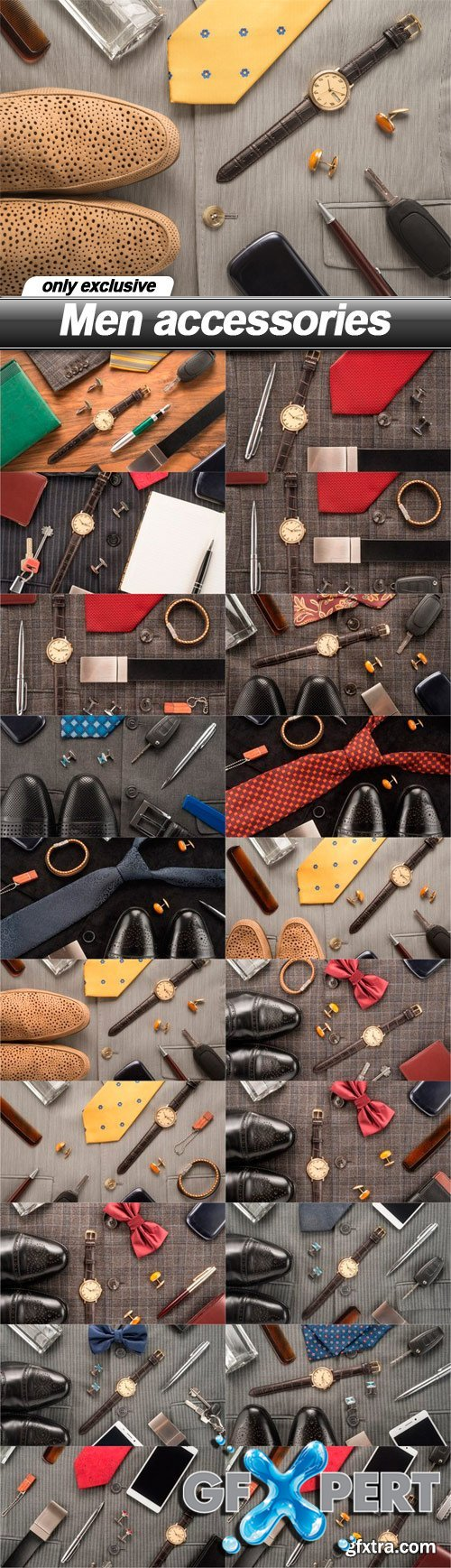 Men accessories - 20 UHQ JPEG