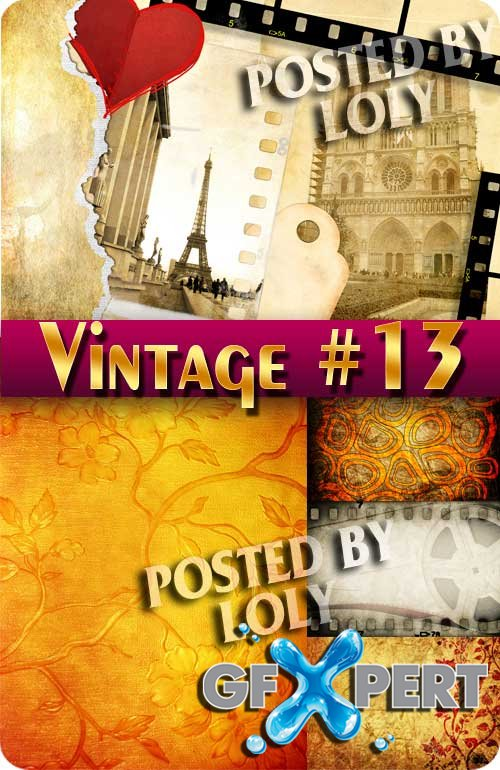 Vintage backgrounds #13 - Stock Photo