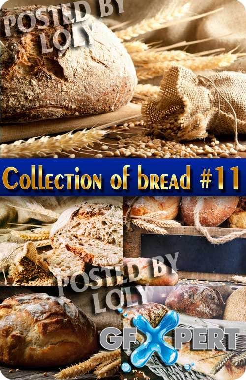 Food. Mega Collection of Bread #11 - Stock Photo