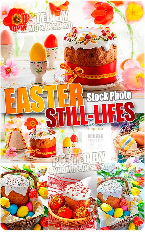 Easter still-lifes - UHQ Stock Photo
