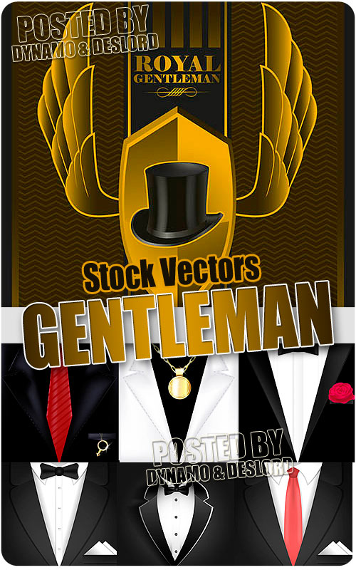 Gentleman - Stock Vectors