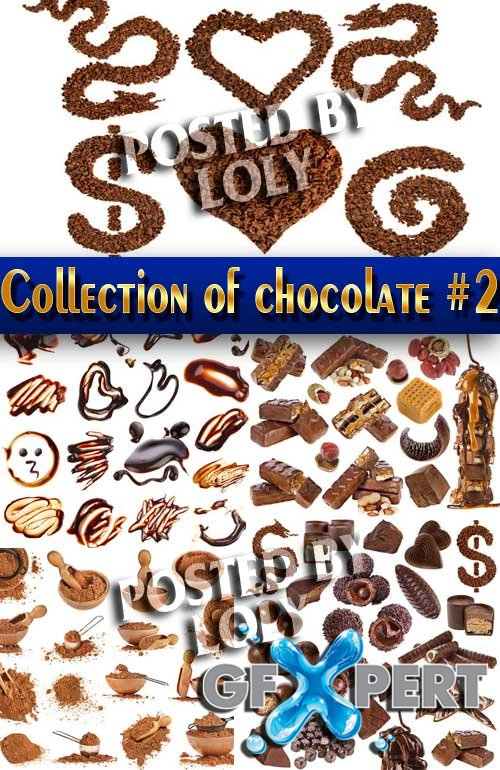Food. Mega Collection. Chocolate #2 - Stock Photo