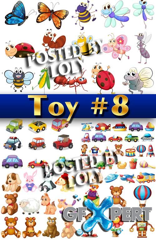Kids Toy #8 - Stock Vector