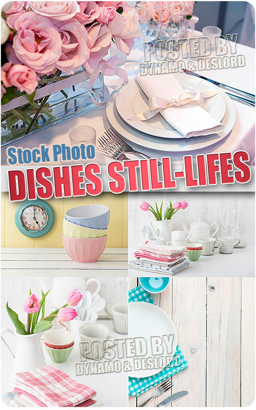 Dishes still-lifes - UHQ Stock Photo
