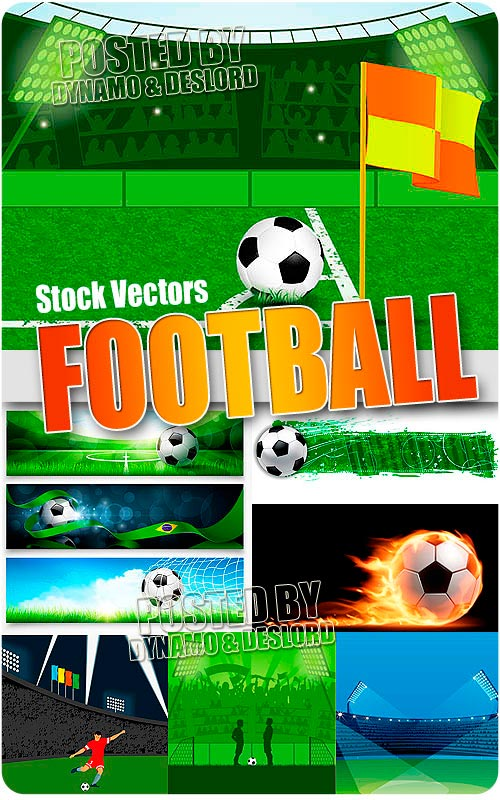 Football - Stock Vectors