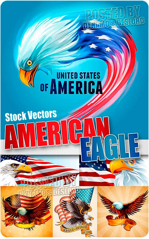 American eagle - Stock Vectors