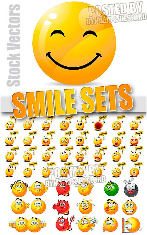 Smile sets - Stock Vectors