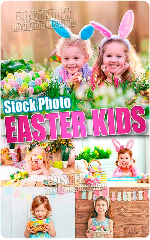 Easter kids - UHQ Stock Photo