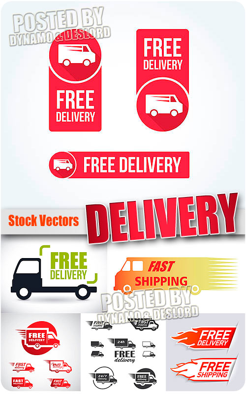 Delivery - Stock Vectors