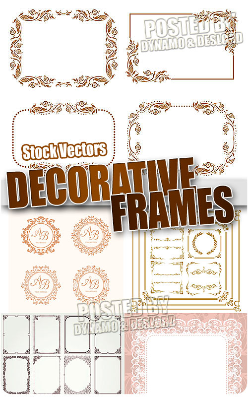 Decorative frames - Stock Vectors