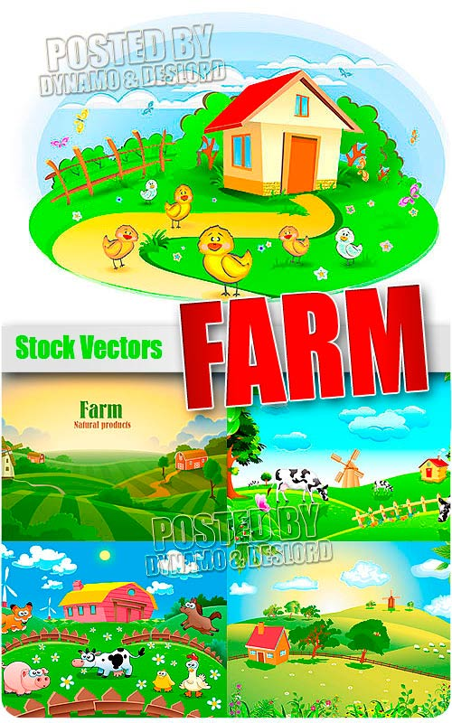 Farm - Stock Vectors