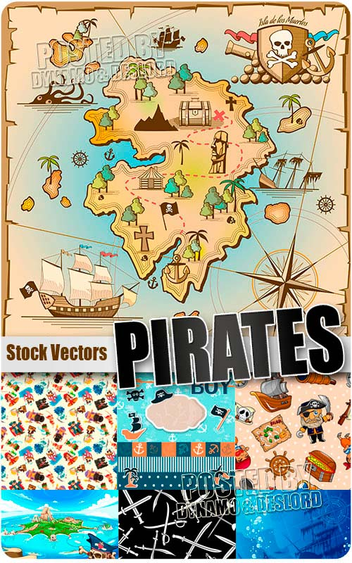 Pirates kids - Stock Vectors