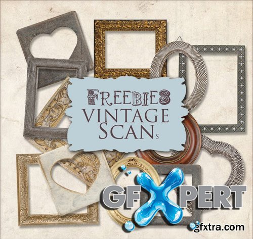 Scrap Kit - Vintage Frames, part 2