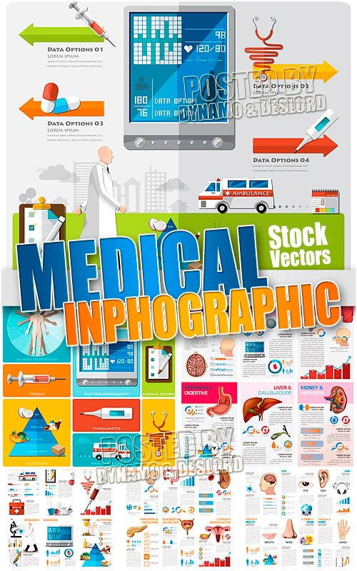 Medical Infographic - Stock Vectors