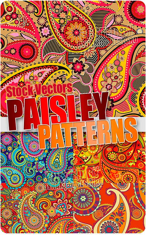 Paisley patterns - Stock Vectors
