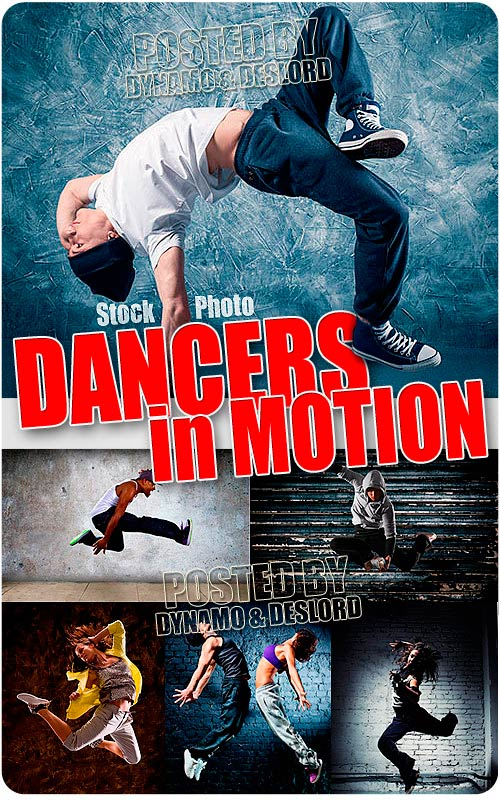 Dancers in motion - UHQ Stock Photo
