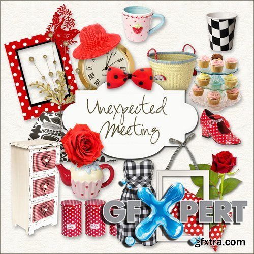 Scrap Kit - Unexpected Meeting