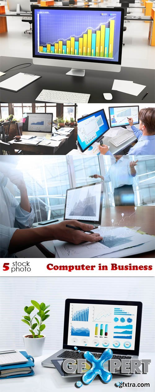 Photos - Computer in Business